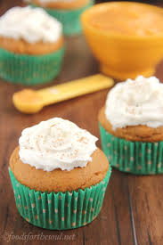 Pumpkin Cupcakes by Butterscotch Filled Pumpkin Cupcakes With Whipped Cream Amy U0027s