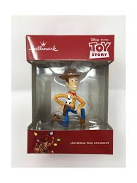 hallmark story sheriff woody disney pixar ornament