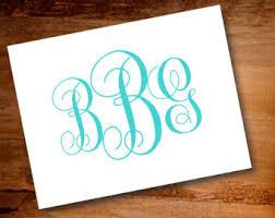 personalized notecards monogram notecards etsy