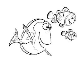 finding nemo coloring pages fablesfromthefriends
