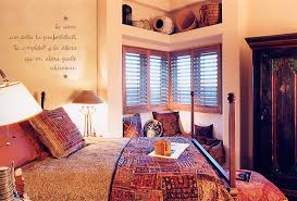 southwestern styled bedroom