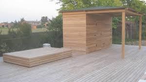faire une cuisine d été terrasse bois merbau piscine bois cuisine d été anglet in cuisine