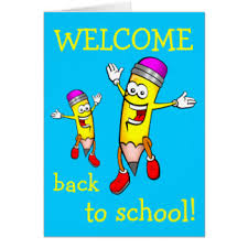 welcome to school greeting cards zazzle