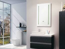 best benefits backlit bathroom mirror inspiration home designs