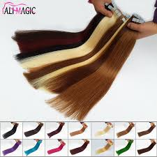 24 In Human Hair Extensions by Online Get Cheap Seamless Skin Weft Hair Extensions Aliexpress