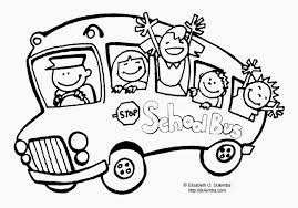bus safety coloring pages page color periods free for
