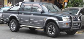 mitsubishi strada modified mitsubishi l200 history of model photo gallery and list of