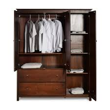 armoires for hanging clothes sheila armoire reviews birch lane