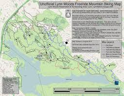 Map Of Eastern Massachusetts Lynn Woods Nemba