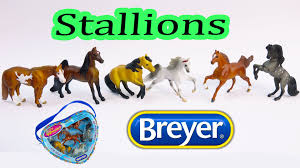 minnie whinnies breyer horses mini whinnies 2005 stallion set model micro