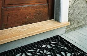 How To Stain Mohagany Doors Youtube by How To Replace A Threshold This Old House