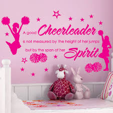 wall decal design cheer wall decals for cheerleaders member vinyl wall decal design quotes memorable pompom yelling varsity fighting jump stunt humble tumble cheer decals cheerleader