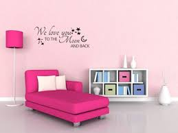 Sam Moon Home Decor Online We Love You To The Moon And Back Wall Quote Wall Sticker Wall