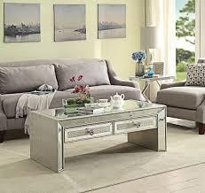 mirrored glass coffee table sofia mock croc mirrored glass coffee table chic concept