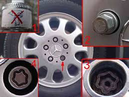 mercedes wheel nuts bert rowe s a class info working safely around and your car