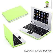 android notebook goldengulf 7 inch green 4 1 jellybean mini android