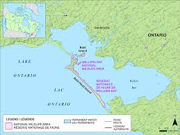 map of ta bay wellers bay national wildlife area canada ca