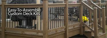 pre engineered deck kits decks and decking systems pinterest