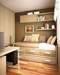 Elevated Bed Small Bedroom Apartments Outstanding Small Room Ideas Loft Bed And White