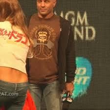 Joe Rogan Meme - joe rogan tries his best not to look the ring girl s eyes are fully