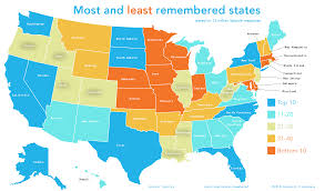 Us Map With State Names by Remembered Labelled1 Png