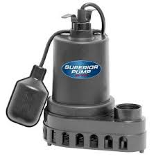Pedestal Or Submersible Sump Pump Everbilt 1 3 Hp Aluminum Submersible Sump Pump With Tether
