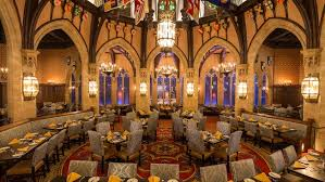 Cinderellas Royal Table Walt Disney World Resort - Castle dining room
