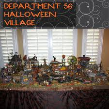 miniature halloween village halloween village department 56 display love laughter and a