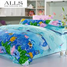 Duvet 100 Cotton 100 Cotton Cartoon Bed Linen Finding Nemo Bedding Set Duvet Cover