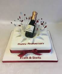 ruby wedding cakes wedding anniversary cakes reading berkshire south oxfordshire uk