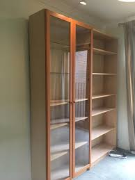 Ikea Billy Bookcases With Glass Doors by Ikea Billy Bookcase Glass Doors In Oxford Oxfordshire Gumtree
