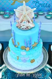 mermaid cake ideas kara s party ideas vintage glamorous mermaid birthday party