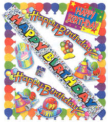 Happy Birthday Decorations Decorate Your Next Birthday Party