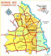 prince georges county map foreclosed homes in bowie maryland popular community for prince