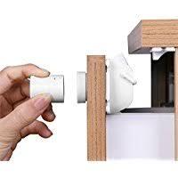 Magnetic Locks For Cabinets Amazon Co Uk Magnetic Cabinet Locks U0026 Straps Guards U0026 Locks
