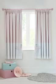 Pink Pleated Curtains Amelia Ballerina Black Out Pencil Pleat Curtains Amelia U0027s