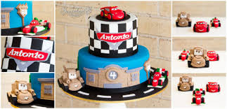 cars theme birthday cake a pocket full of sweetness cake by