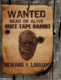 duct tape bandit wanted poster pictures freaking news