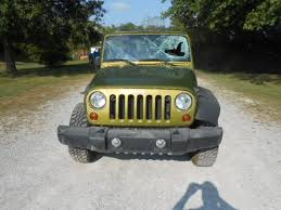 wrecked jeep wrangler for sale buy used 2008 jeep wrangler rubicon 4x4 4 door salvage wrecked