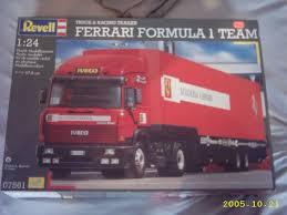 ferrari truck index of modell zu bauende modelle revell 1 24 ferrari formula 1