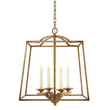 Rustic Candle Chandelier Gold Candle Chandelier