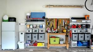 How To Organize A Garage How To Organize A Garage That Is Filled With Clutter Simple Made