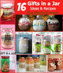 16 gifts in a jar recipes and ideas plus links to 60 more