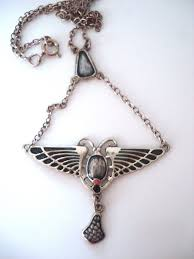 ebay necklace silver images The 218 best reproduction and fake art nouveau jewelry sold as jpg