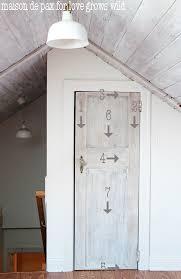 How To Paint An Interior Door Whitewashed Door Tutorial Love Grows Wild