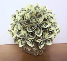 money flowers items similar to мoney bouquet of flowers origami flowers money