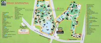Moscow Map Moscow Photos Moscow Zoo Map View 7
