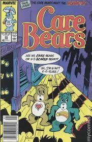 care bears 1985 marvel star comics comic books