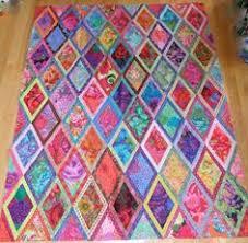 Ideas Design For Colorful Quilts Concept Elongated Diamond An Original Design By Jan Krueger Using A
