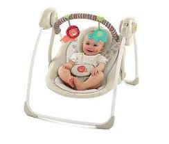 portable baby swing with lights baby swing infant portable swings music player chair seat folds toys